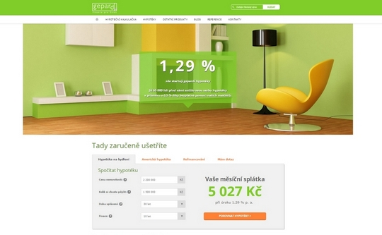 GEPARD FINANCE Joomla