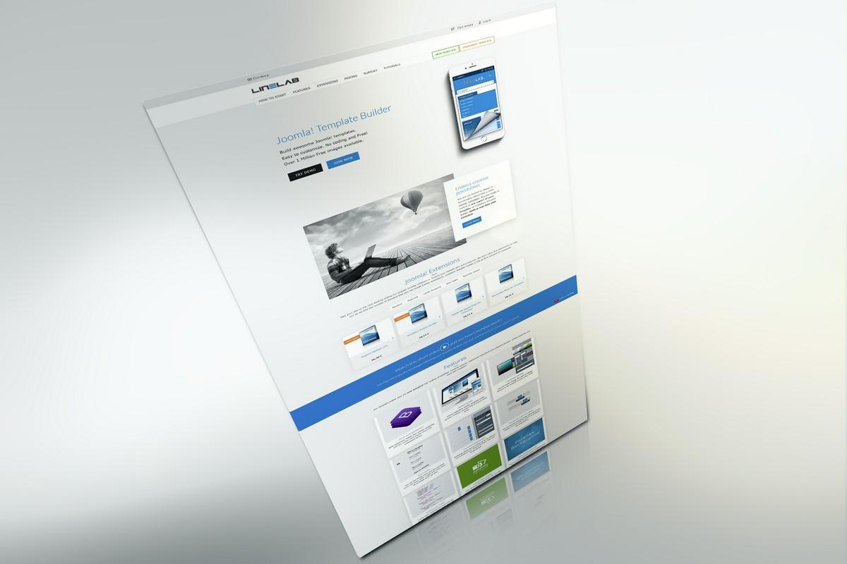 Webdesign Linelabox - Editor pro webdesignery